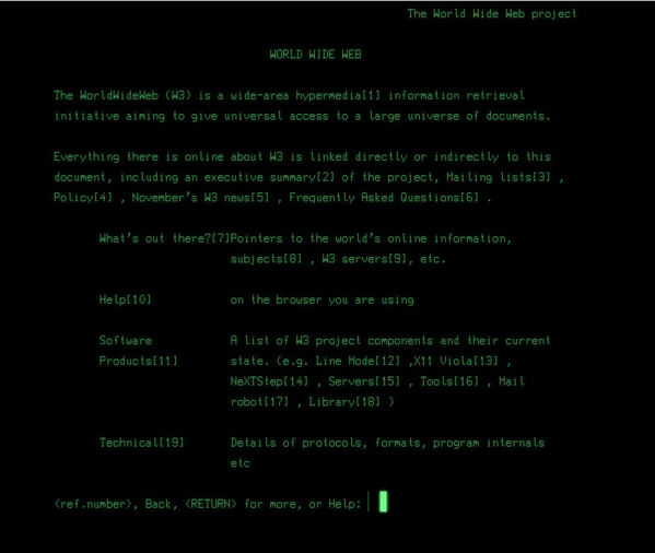 Web line mode simulator at CERN.